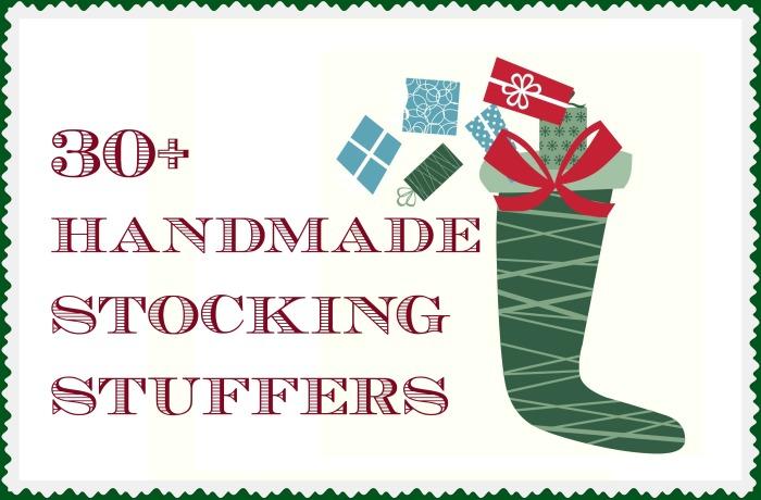 30+ Handmade Stocking Stuffers