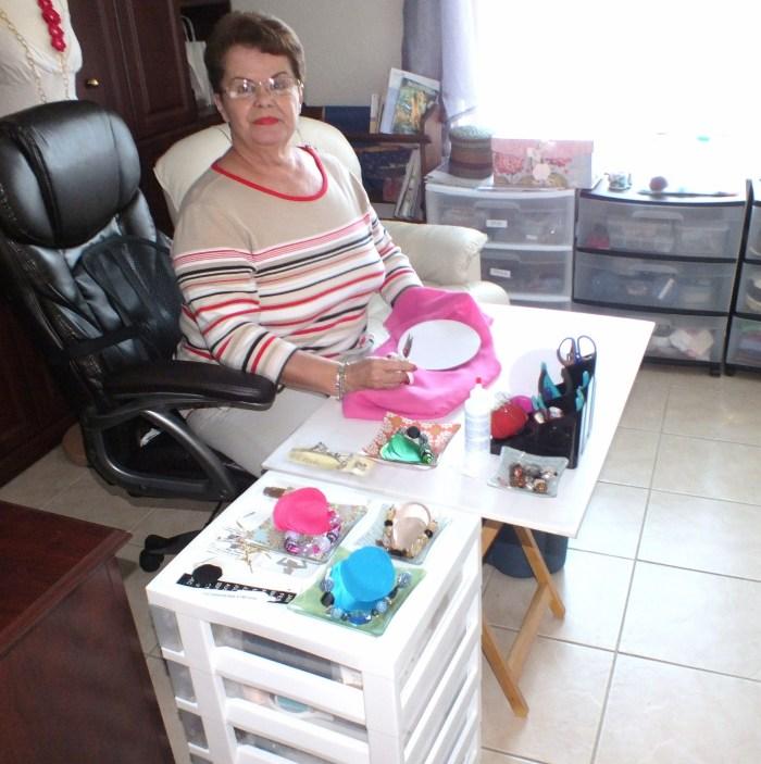 Carmen in her Studio